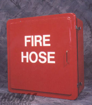 Red Fire Hose Cabinet