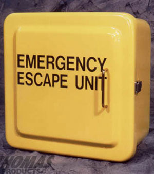 Yellow Emergency Cabinet